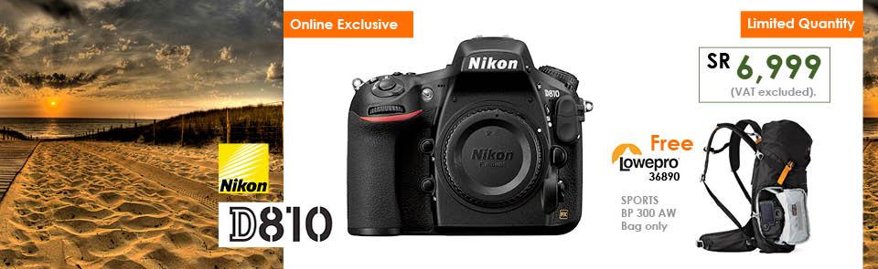 Nikon D810 Offer