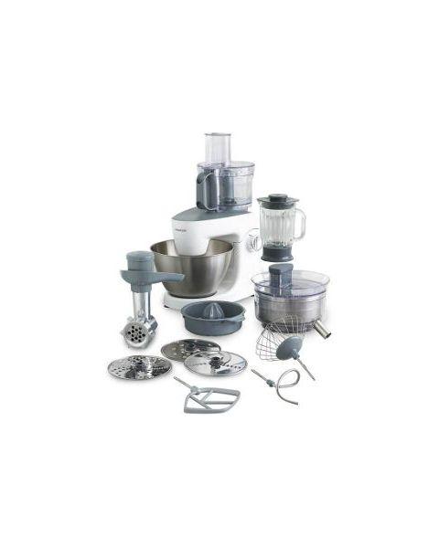 كينوود، عجانه ملتي ون 1000واط مع 11 ملحق Kenwood kitchen machine MultiOne KHH326WH 1000w- with 11 attachments