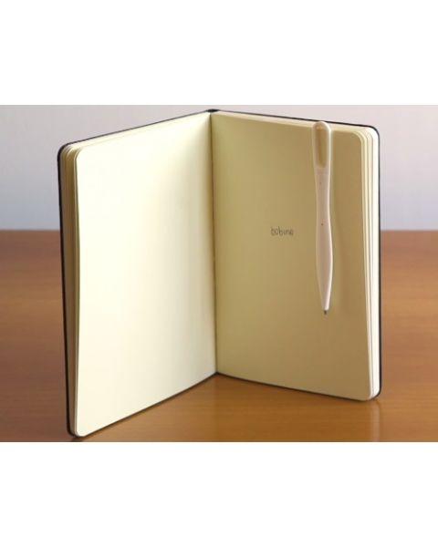 قلم بوبينو لحفظ الصفحات وتسجيل الملاحظات - أبيض (BOMAP WH)