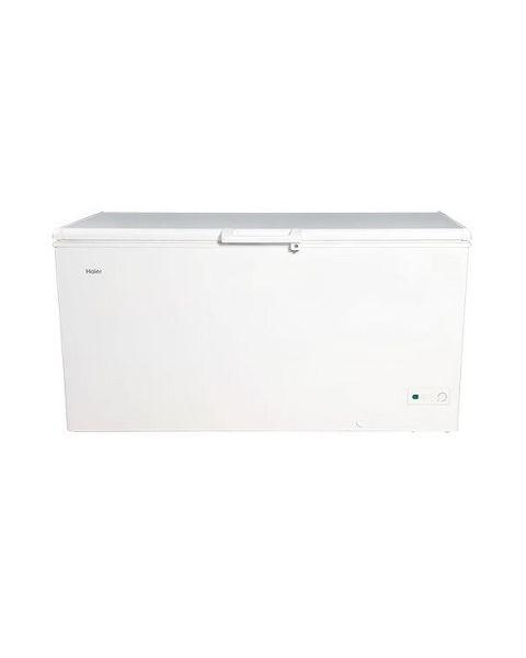 Haier Freezer Chest, 420 Ltrs/14.8 Cu.Ft., Inverter Compressor, White (HCF478HNI)
