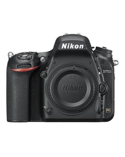 كاميرا نيكون دي750 بخاصية الواي فاي هيكل فقط (VBA420AM) + بطاقة ذاكرة 64 جيجابايت + بطاقة عضوية نيكون للعملاء المميزين