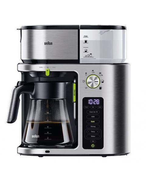 Braun KF9170S MultiServe Coffee Machine + Hot Water (BRKF9170SI)