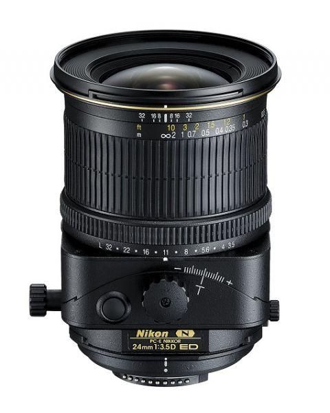 نيكون بي سي-اي نيكور 24 ملم f/3.5دي اي دي Nikon PC-E NIKKOR 24mm f/3.5D ED-front