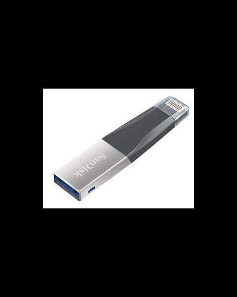 سانديسك اياكسباند ميني يو اس بي للايفون و الايباد، 128 جيجابايت (SDIX40N-128G)